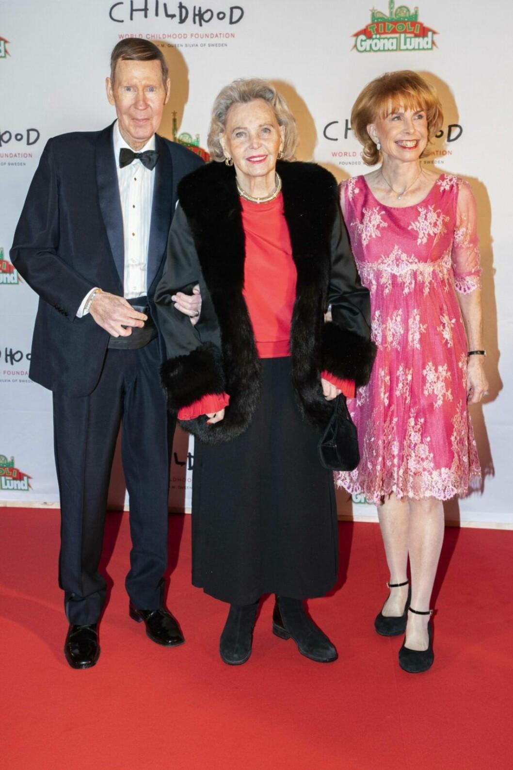 Elon Ekman, Marianne Bernadotte och Sophie Ekman.