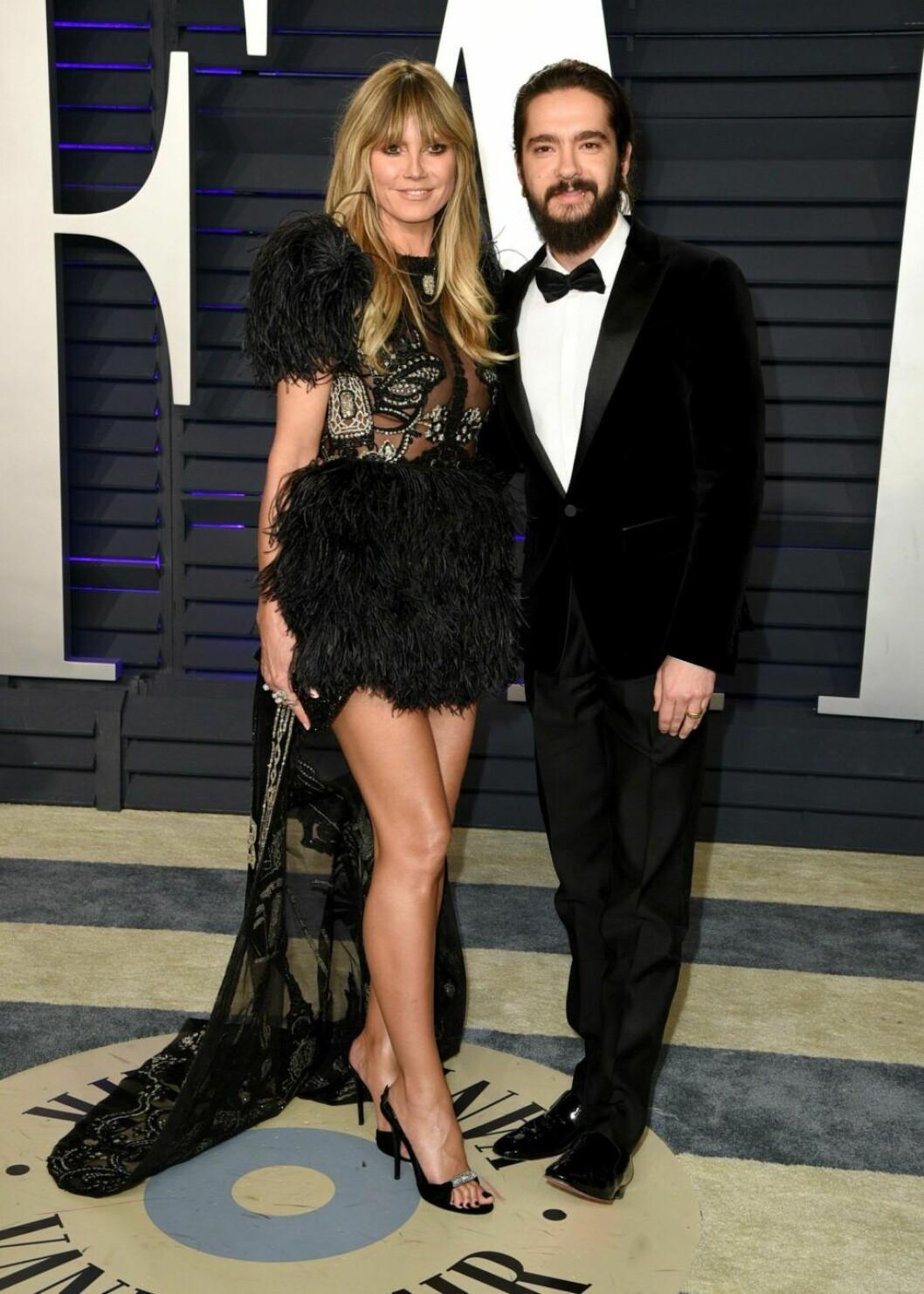 Heidi Klum och Tom Kaulitz Vanity Fair