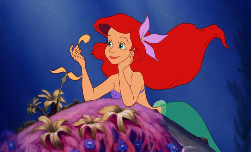 Bild på Ariel ur Disneyfilmen Den Lilla Sjöjungfrun
