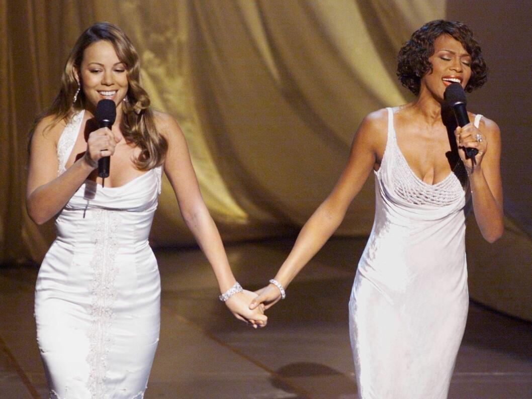 Mariah Carey och Whitney Houston