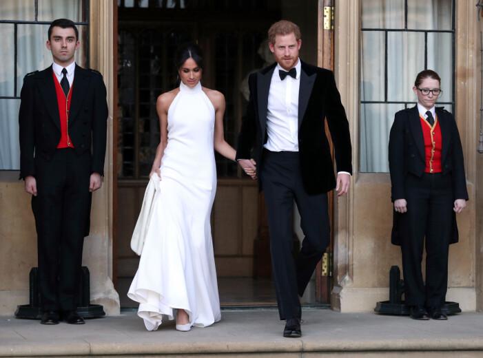 Meghan & Harry bröllopsfest