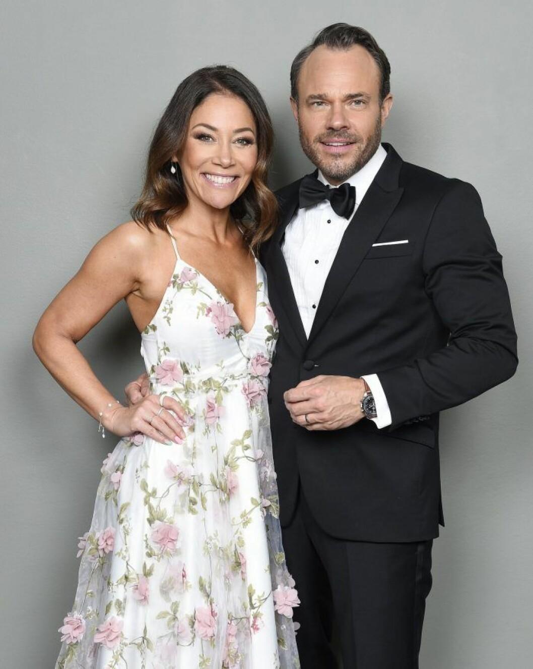 Tilde de Paula Eby och David Hellenius är programledare för Let´s dance i TV4.