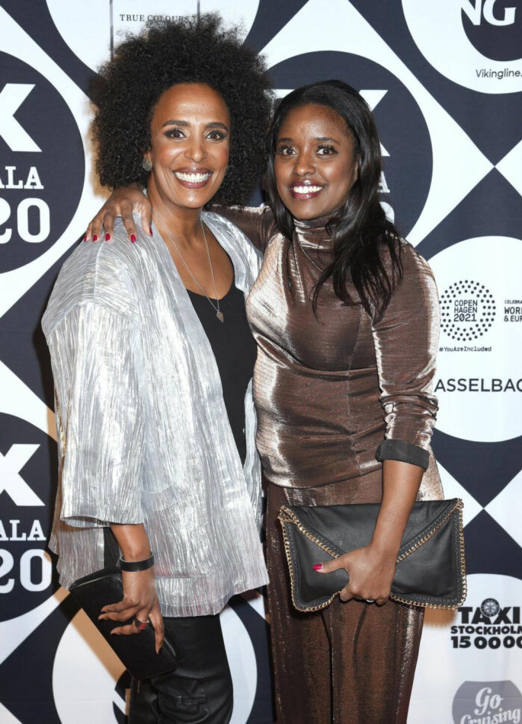 Marika Carlsson och Maria Sander på QX-Galan 2020