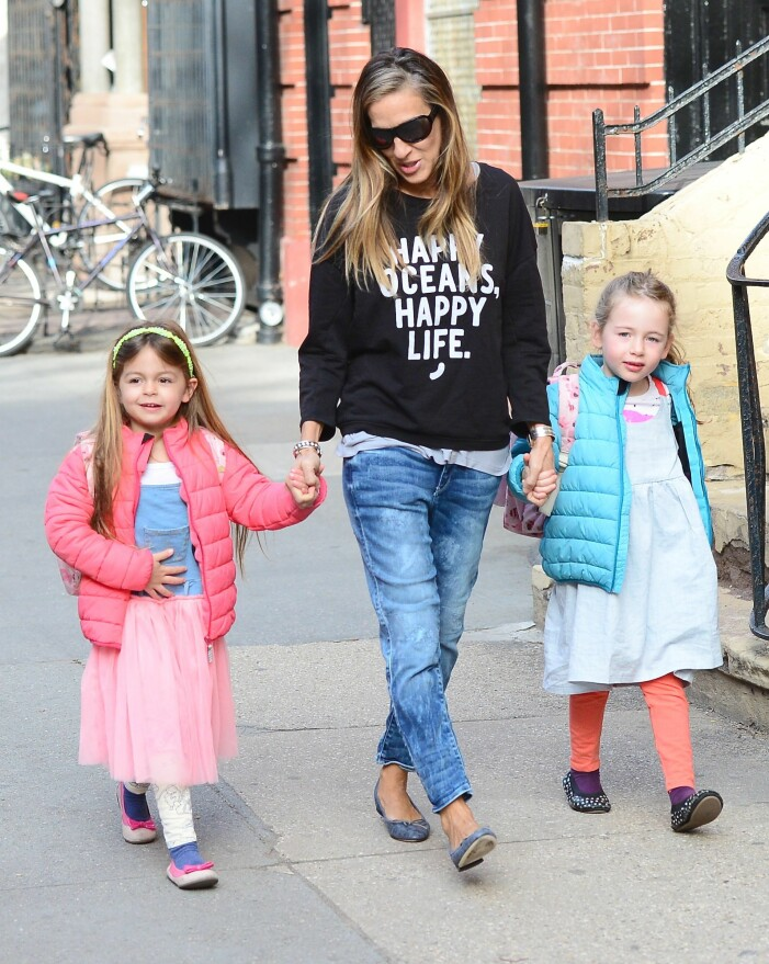 sarah jessica parker med sina barn