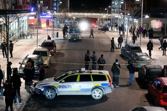 Dubbelmord på Café Mynta i Rinkeby 2016