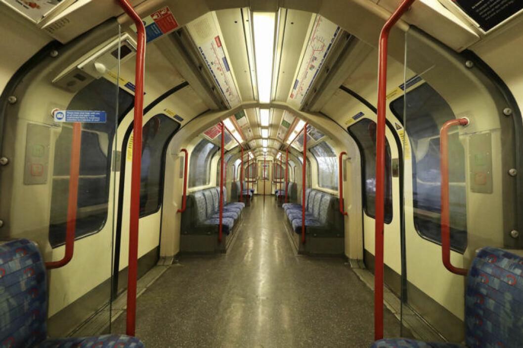 Tom tunnelbana i London