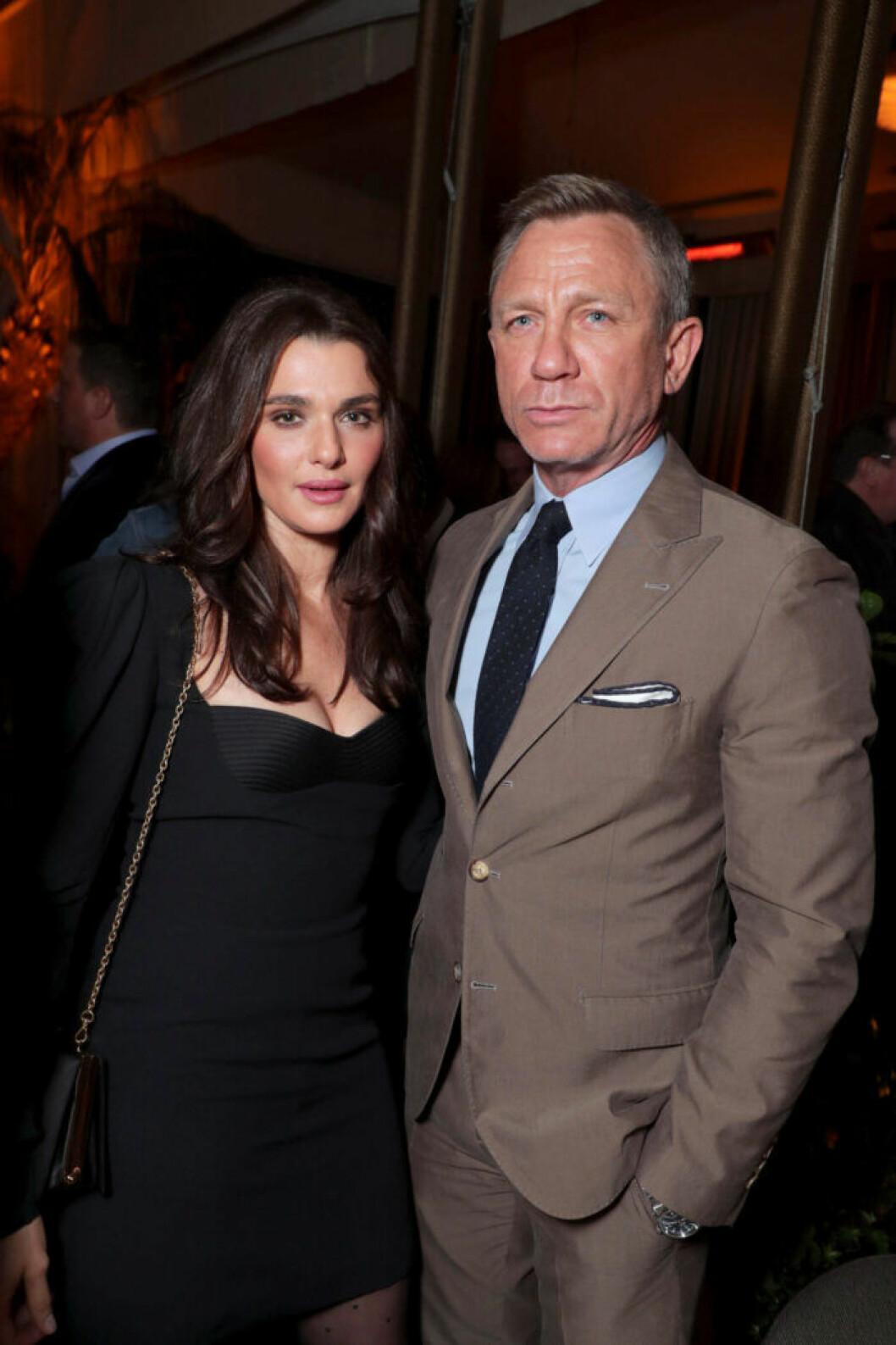 Rachel Weisz och Daniel Craig.