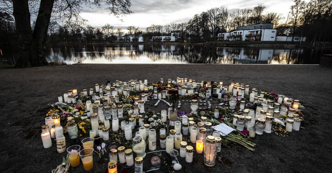 18-årig kvinna mördad vid Tjurasjön i Höör.