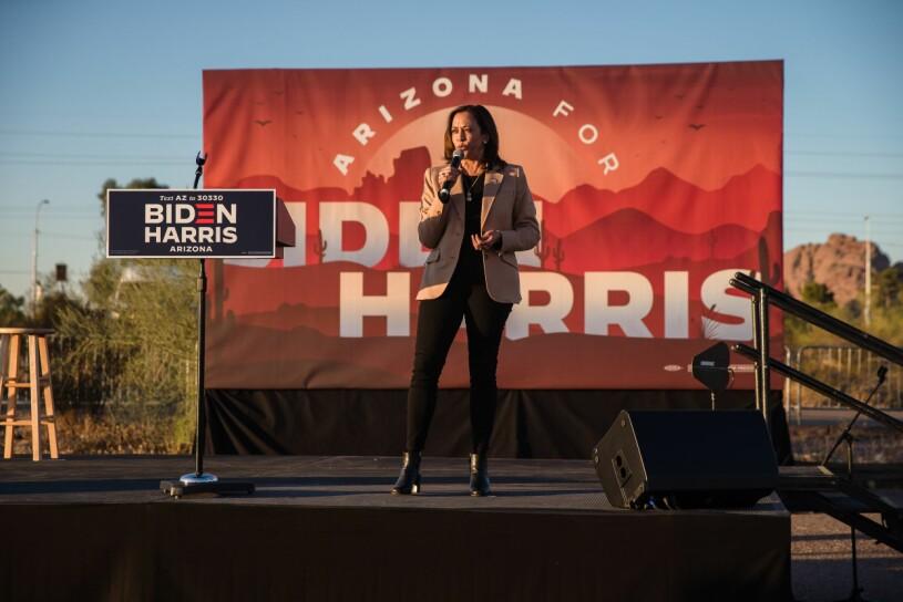 Kamala Harris i Arizona