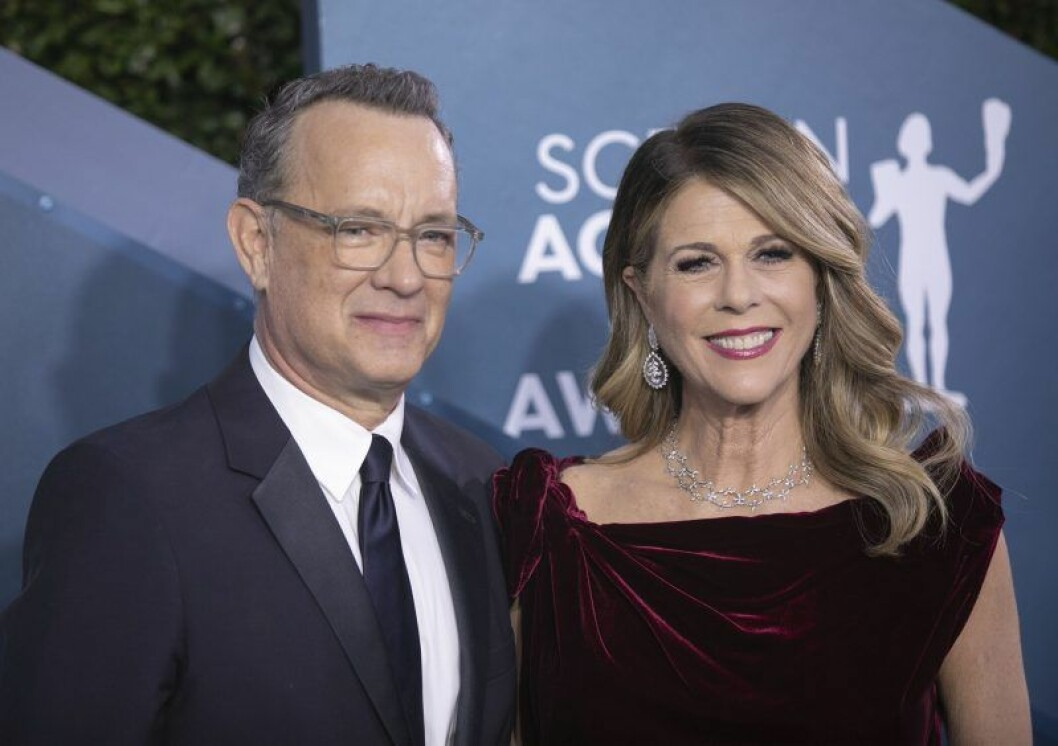 Tom Hanks och Rita Wilson.