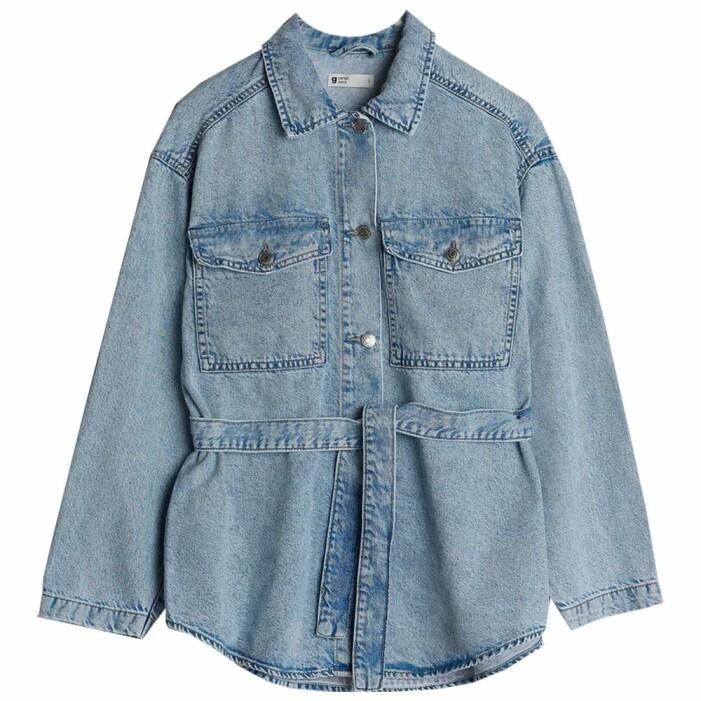 skjortjacka denim