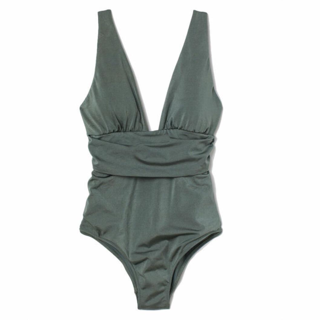 Grön shapingbaddräkt från H&M