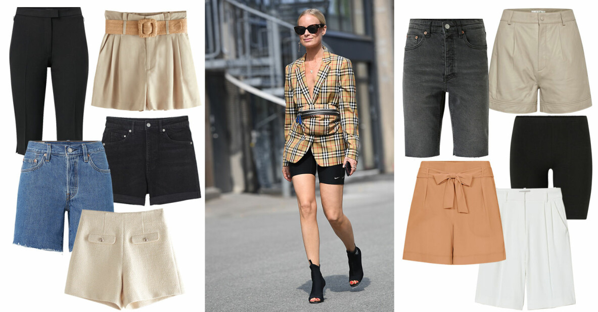 snygga och trendiga shorts våren och sommaren 2021