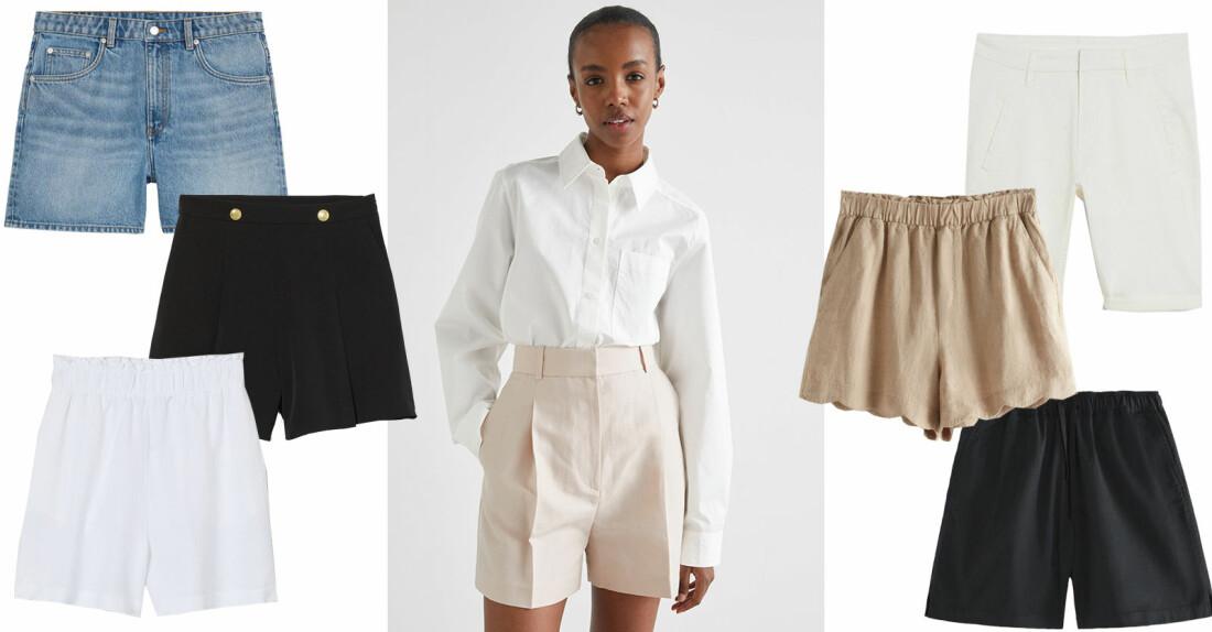 snygga och sköna shorts sommaren 2021
