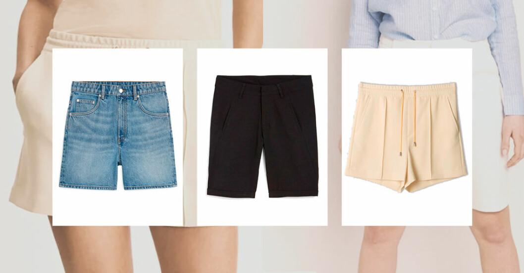 Snygga och sköna shorts till sommaren