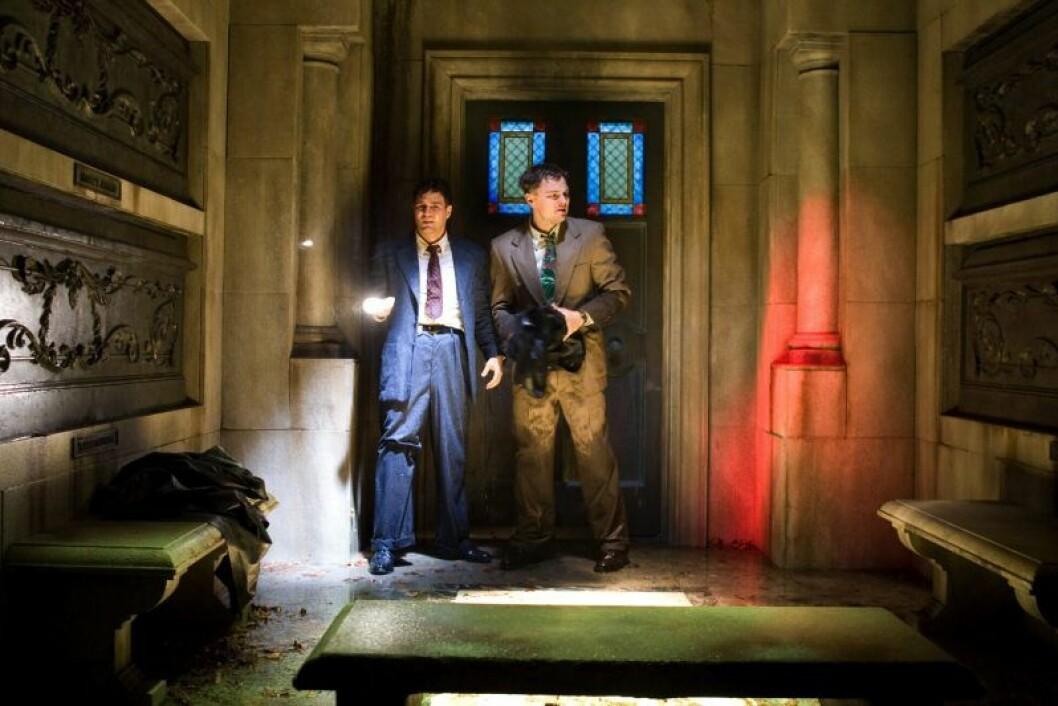 En bild från filmen Shutter Island med Leonardo DiCaprio, som finns på HBO.
