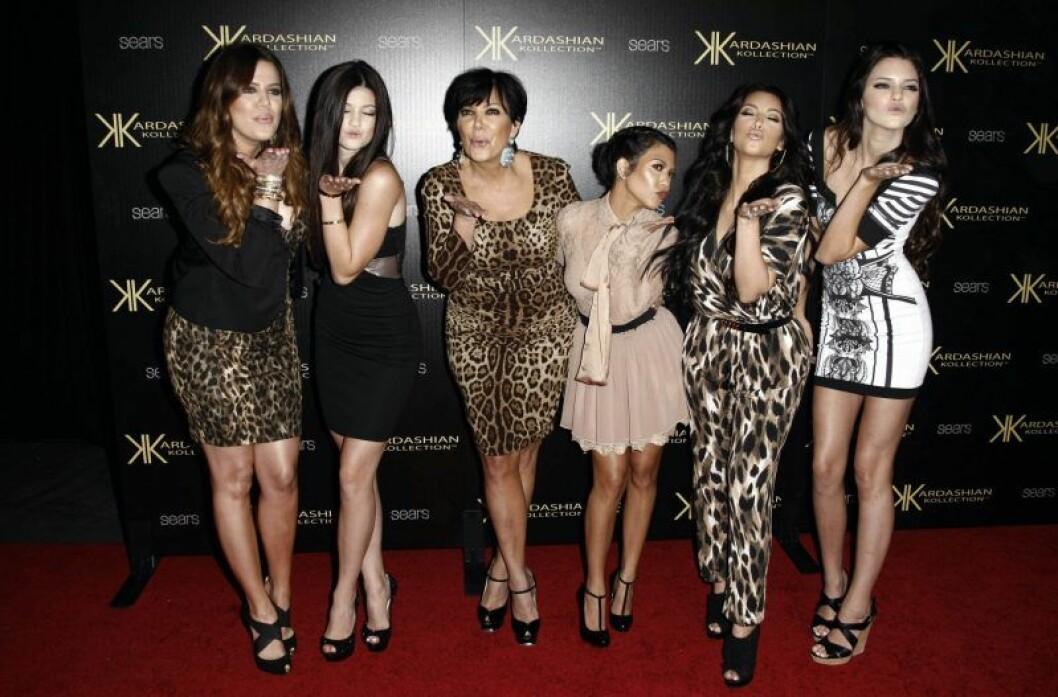 kris jenner med döttrar