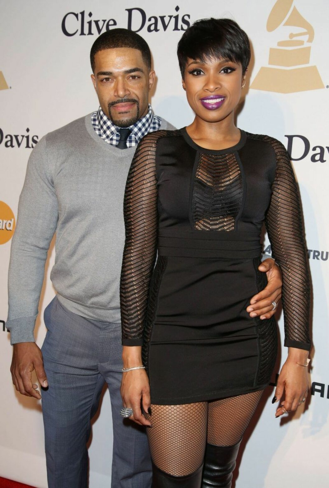 Jennifer Hudson och David Otunga