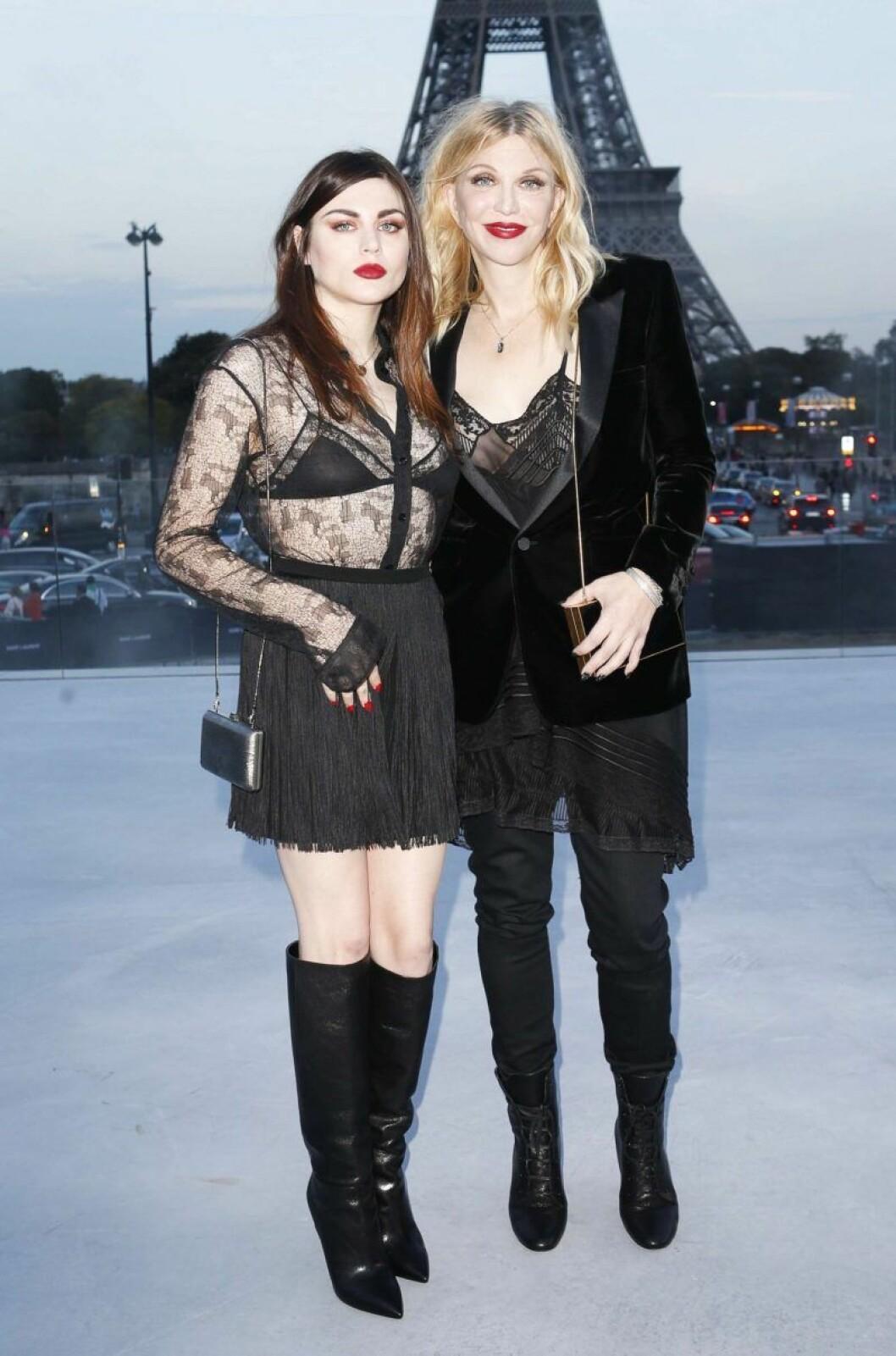 Frances Bean och Courtney Love
