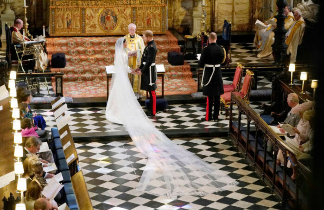Bröllopet mellan Meghan Markle och prins Harry