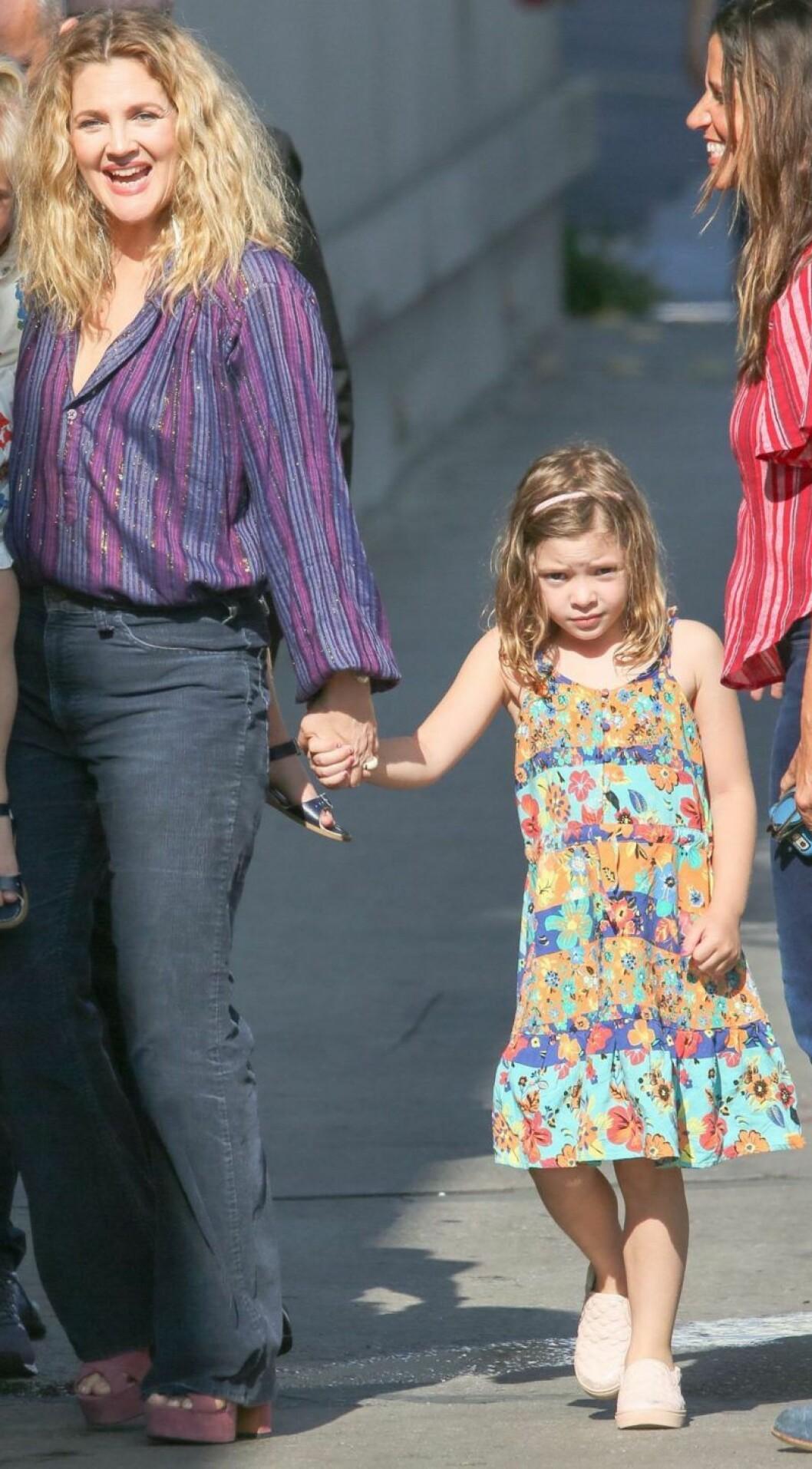 Drew Barrymores dotter Olive
