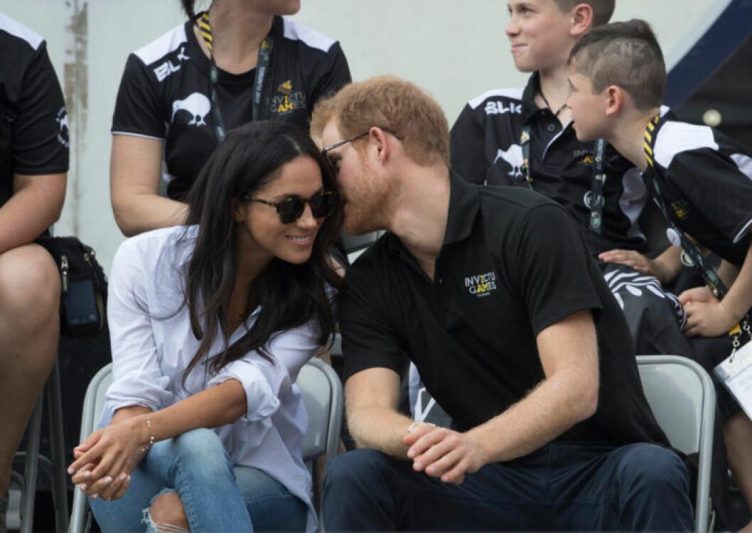 Meghan och Harry.