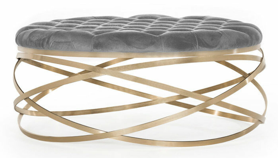 Swirl sittpall från Soffadirekt