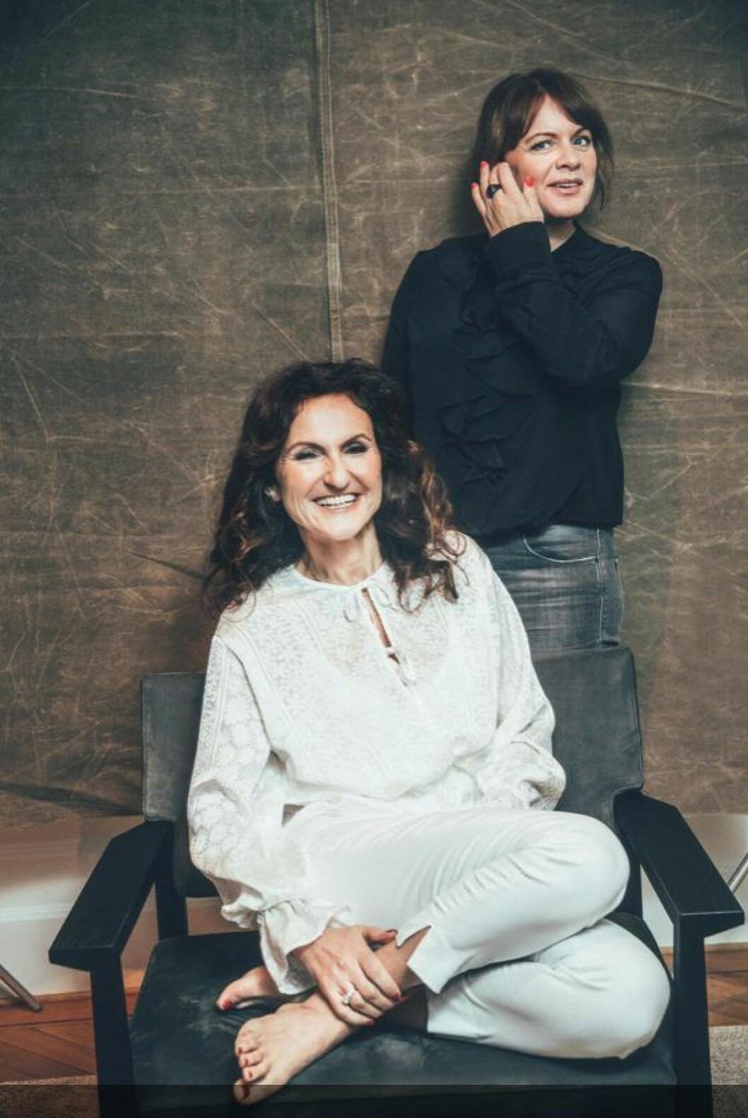 Gunilla von Platen och Malin Roos.