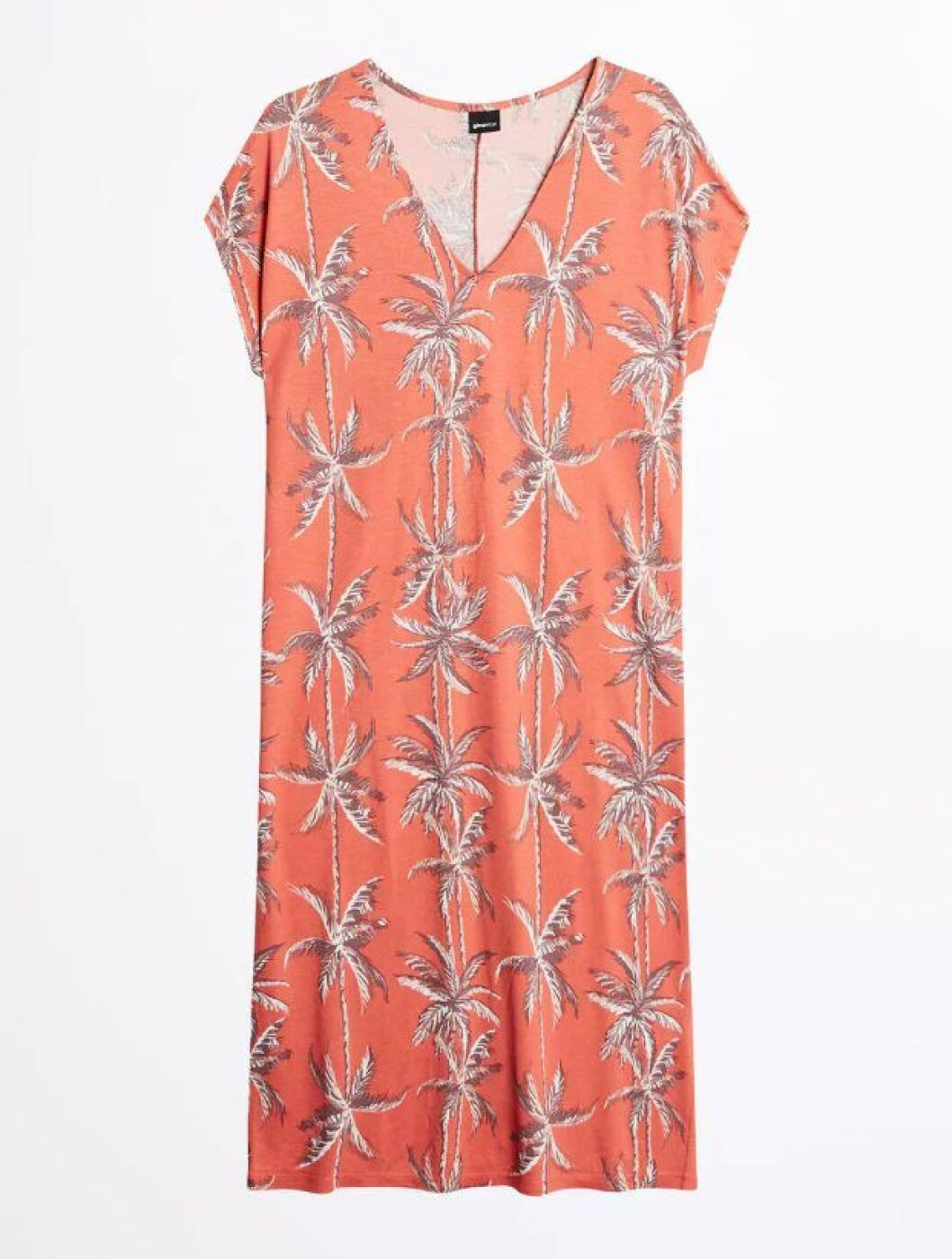 mönstrad klänning gina tricot palmer