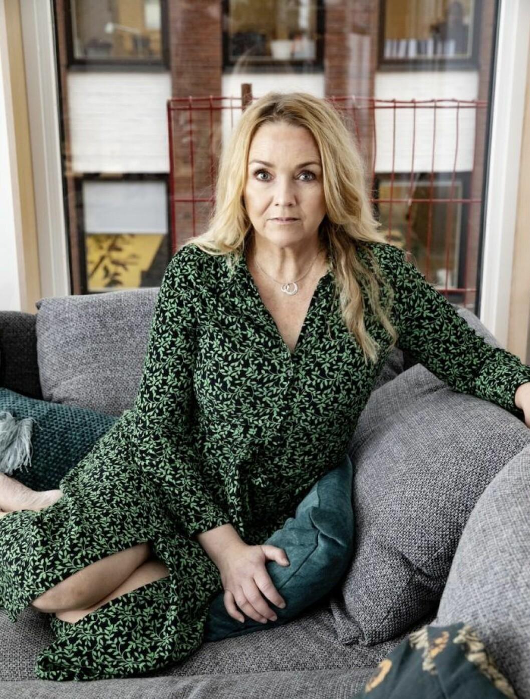 Ellinor Persson hade en cancertumör i bröstet i sex år