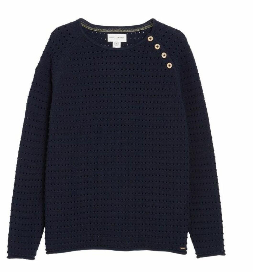 Finstickad tröja från Lindex