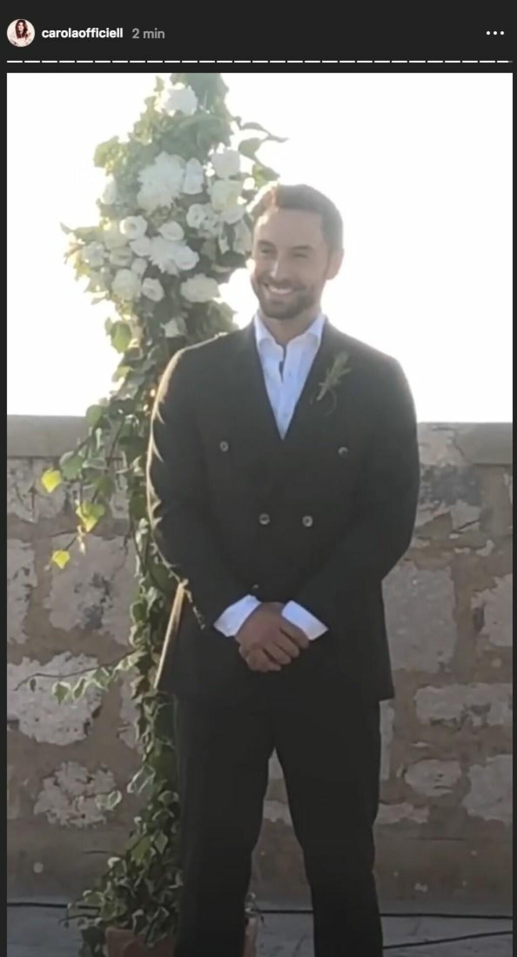 Måns Zelmerlöw bröllop