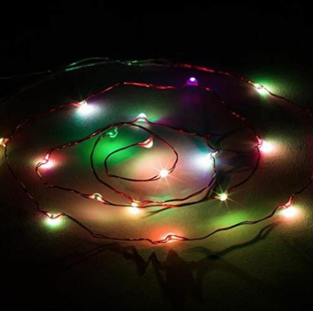 Skägglampor – fin julbelysning till skägget!
