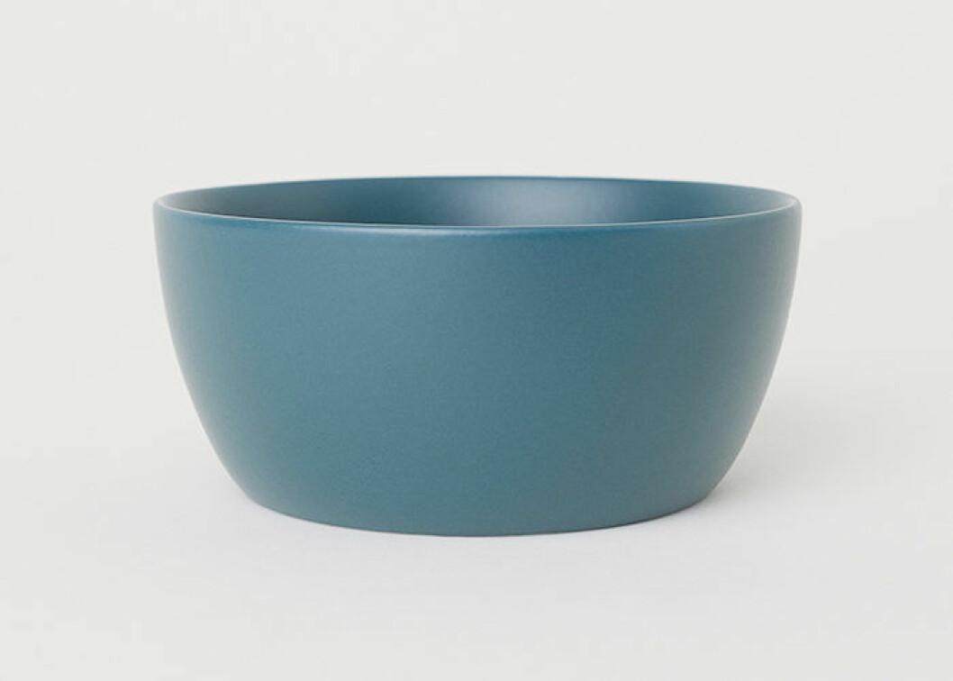Blå frukostskål, H&M Home