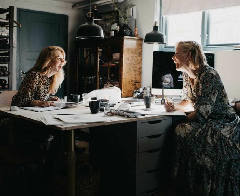 Anna Sylvan och Malin Mighetto driver Mrs Mighetto från Älvsjö.