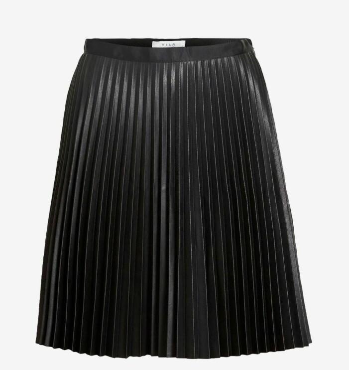 plisserad kjol Vila