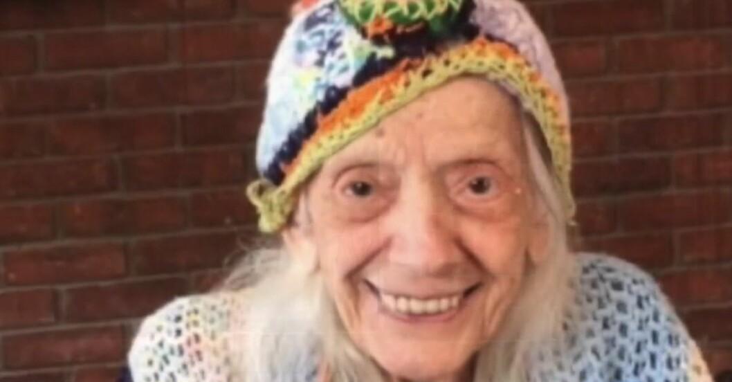 Angelina Friedman är 102 och har överlevt två pandemier.