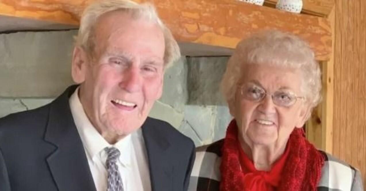 Raymond och Kathleen Atkins ville inte vara utan varandra.