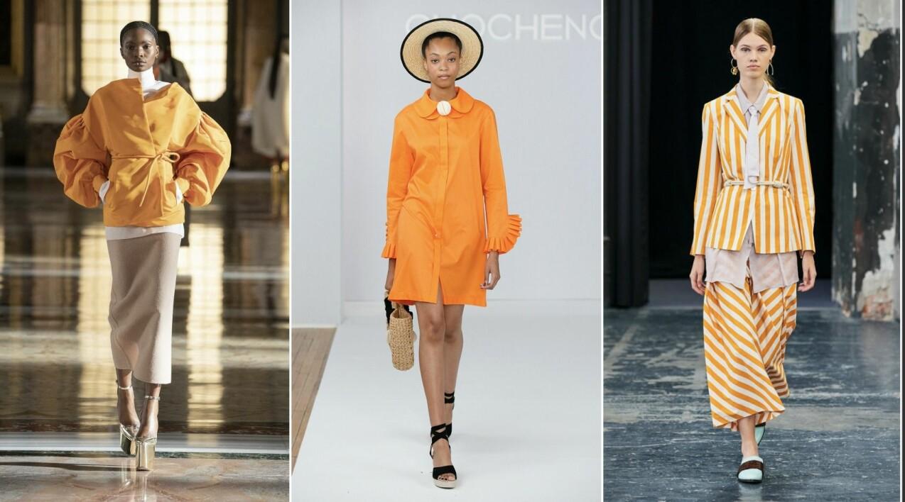 Orange är månadens trendande färg