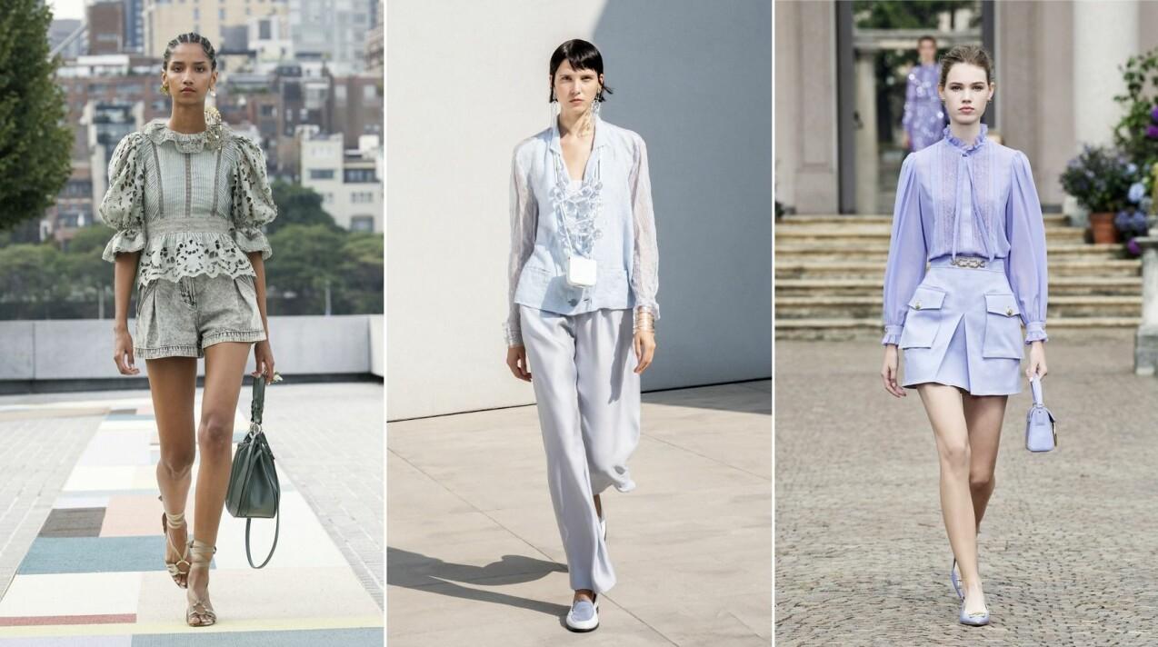 Vårens och sommarens trendiga blusar i härliga pasteller