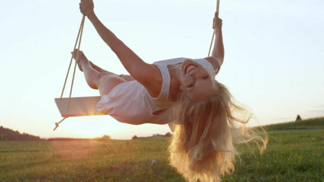 Att ha barnasinnet kvar är viktigt för ett bra förhållande.