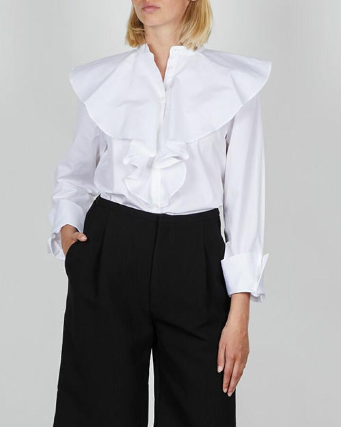 skjorta med krage