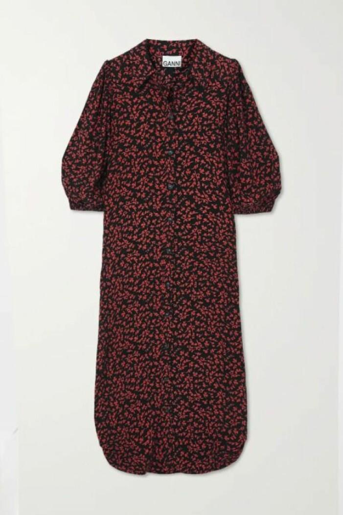 skjortklänning från Ganni