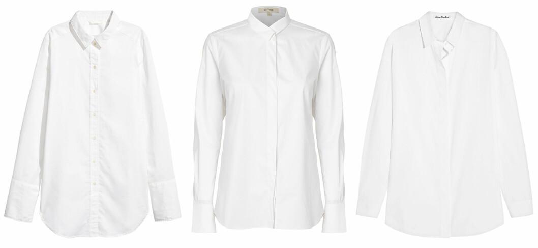 vita-skjortor