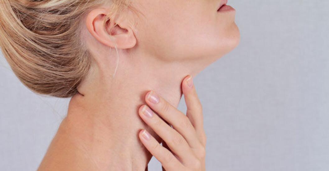 symtom på sköldkörtelproblem