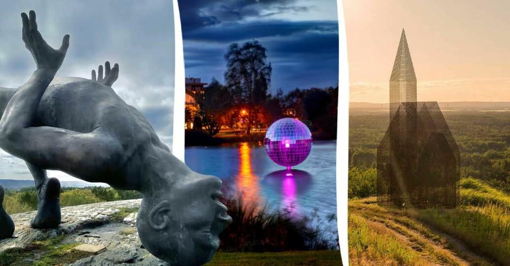 Besök skulpturer Sverige