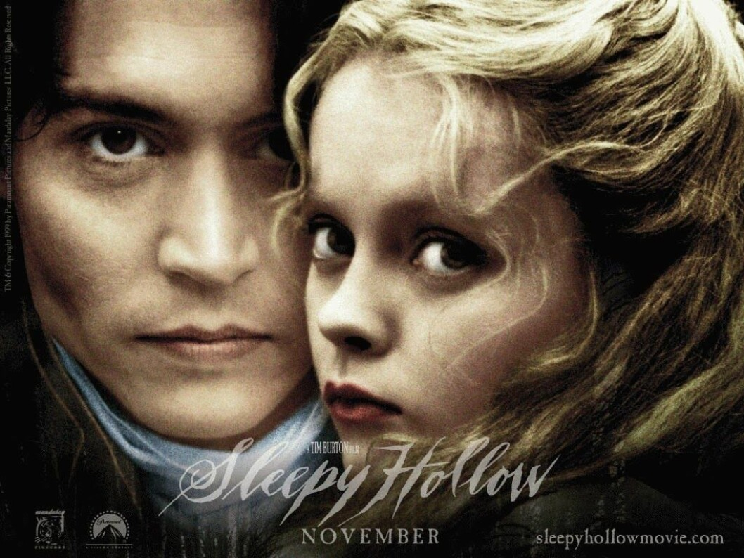 Johnny Depp och Christina Ricci i Sleepy Hollow.