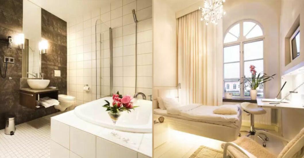 Spahotell i Bromma med slottomgivning
