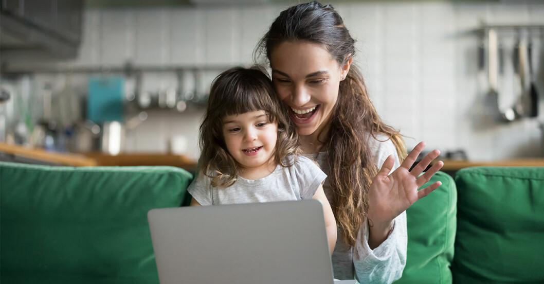 Studie visar att mammor är mer stressade när de jobbar heltid