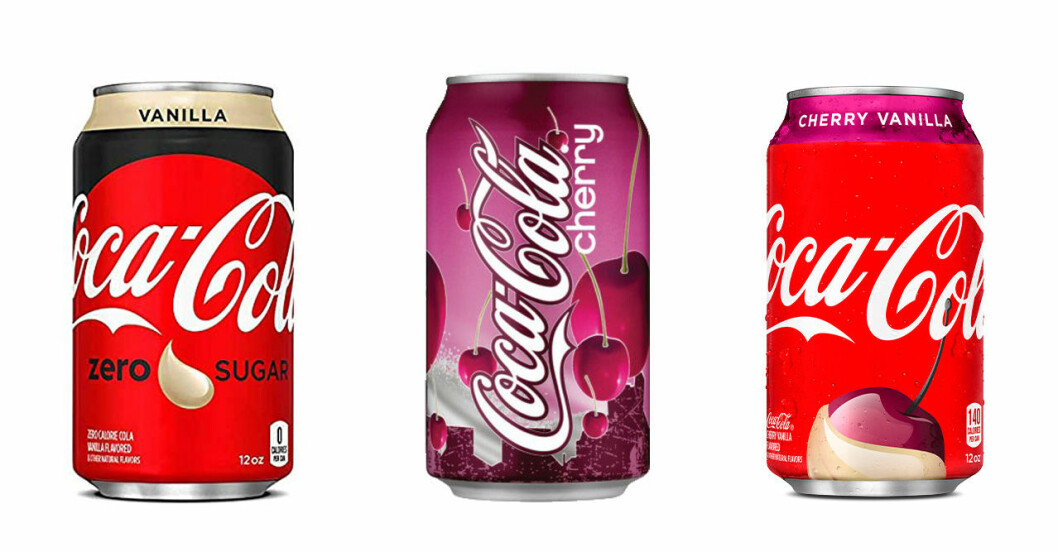 smaksatt cola
